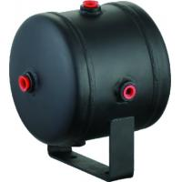 Quality Black Steel Horizontal Air Comressor Tank For Air Horn Tires , 0.5 Gallon air tank wholesale