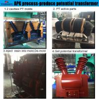 Quality automatic hydraulic press moulding machine for Combination Instrument Transformer wholesale