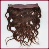 China Best Selling Product in Europe 2016 Wholesale Cheap Remy Flip In Hair Extensions on sale