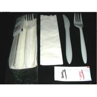 Quality White Disposable Plastic Cutlery Plastic Knives And Forks For Eating Fast Food wholesale