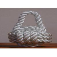 Quality 3mm-15mm PP multifilament twist 3-strand rope code used for knitted handwork wholesale