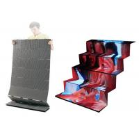 China Foldable Modules Flexible Led Curtain Display Hanging Indoor Full Color For Entertainment on sale