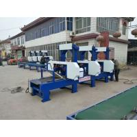 Quality Multiple Heads Horizontal Band Resaw Machine/6 heads Timber cutting bandsaw Mill wholesale