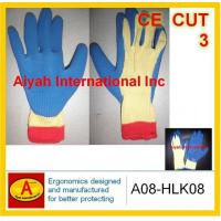 Quality Anti CUT Kevlar Liner with Latex Coated Glove(A08-HLK08) wholesale