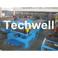 Quality Steel Metal Roof Tile Cold Roll Forming Machine For Roof Cladding, Wall Cladding wholesale