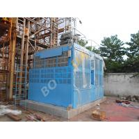 China Double Cage Hoists Frequency Rack And Pinion Material Hoisting Equipment CH3200 on sale