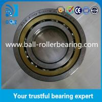 Quality QJ207M Four Point Angular Contact Ball Bearing 17mm Height With Brass Cage wholesale