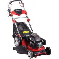 Quality Low Noise Push Button Start Petrol Lawn Mowers Lawn Machine OEM / ODM Available wholesale