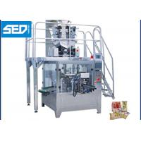 China 8 Working Stations Automatic Pouch Packing Machine For Dried Fruits / Nuts on sale