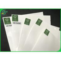 China Greaseproof PE Coated Paper , 160gsm+10g One Side Glossy Paper For Food packing on sale