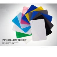 Buy cheap Recyclable PP Hollow Sheet product