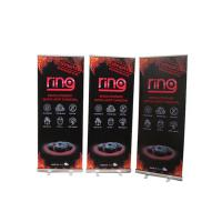 Quality Floor Standing Roll Up Banner Display Vertical Easy Carry Professional Artwork wholesale