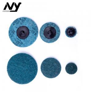 Quality Fine Quick Change Sanding Discs , 3m 2 Inch Roloc Sanding Discs Blue Color wholesale