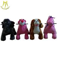 Quality Hansel children electric car musical dinasour riding toy ride on animals wholesale