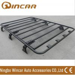 Quality No Frame Cargo Carrier Black Roof Rack Basket Luggage Rack Aluminum Or Steel Material wholesale