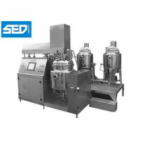 Quality Cosmetic Ointment Manufacturing Machine For Cream & Shampoo Production wholesale