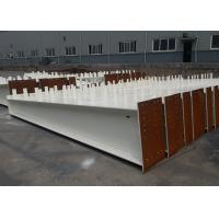 Quality 6 To 12m Length Structural Steel H Beam , Universal Steel Support Beam wholesale