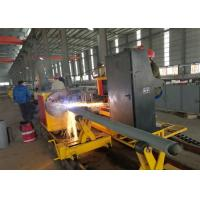 Quality 1-50mm Thickness CNC Gas Cutting Machine , Cnc Plasma Tube Cutter wholesale