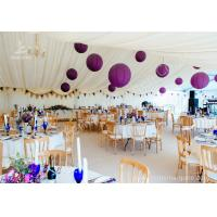 Quality Luxury Wedding Tents Aluminum Profile Lining Deco Different Desk and Table Options wholesale