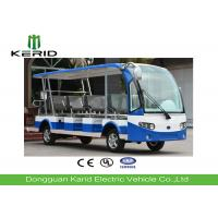 14 Seats Electric Sightseeing Car , Electric Tour Bus With Radio And MP3 Player