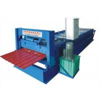 Quality Flat Steel Sheet Roll Forming Machine For Color Metal Coil Roll 300H/350H Main Frame wholesale