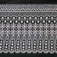China 23cm Chemical Lace, Made of 100% Polyester on sale