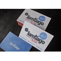 Quality private design paper name card with glossy finished wholesale