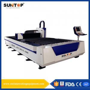Quality Titanium Alloy Silicon Steel Cutting Machine 1500 * 3000mm 380V/50Hz wholesale