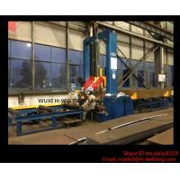 Cheap H Beam Track Welding H Beam Assembly Machine High Efficient For H Beam Fabrication for sale