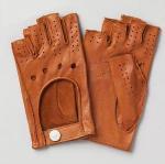 Quality Men′s Short Leather Gloves (NF10-M21) wholesale