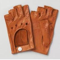 Quality Men′s Short Leather Gloves (NF10-M21) wholesale