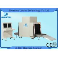 Cheap Conveyor X Ray Luggage Scanner With 40mm Steel Penetration , 800*650mm Tunnel Size for sale