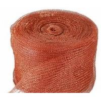 Quality High Effectiveness Copper Knitted Wire Mesh/ 0.6m-2.0m Width/Red and Yellow wholesale