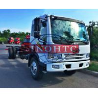 8 - 12 Tons Cargo Transport Truck 6 Wheelers Truck Chassis For Refitting Cargo / Tank Truck