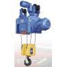 Quality Metallurgy Industry Light Duty Electric Crane Hoist 10 Ton 220 - 600V 50 / 60Hz for sale