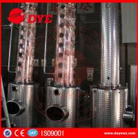Quality Stainless Steel Moonshine Alcohol Stills Copper Distiller Manual wholesale
