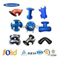 China ISO2531 BSEN545 BSEN598 ductile iron pipe fittings on sale