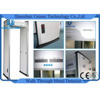 Quality High Density aArchway Metal Detector , walk through gate 33 zones use outdoor wholesale