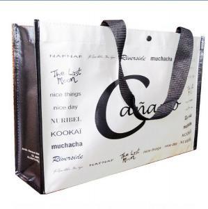 China sell reusable pp woven shopping bag on sale