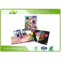 Quality CMYK + Pantone Full Color Snappy Pop Up Books with Offset Printing UV Coating wholesale