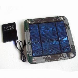 Quality 600D PVC Foldable Solar Panel Renewable Energy  / Foldable Solar Charger For IPhone wholesale