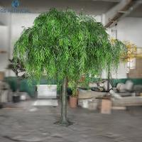 China Artificial Weeping Willow Christmas Tree Decorations / Fake Indoor Plants on sale