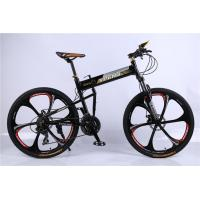 Quality High quality OEM 6 spoke mag one wheel Shimano 21 speed black aluminium folding hummer mountain bicycle wholesale