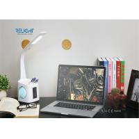 Quality Students Reading Small Modern Desk Lamp With Touch Control , Pen Holder , Calendar Dispaly wholesale