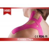 Quality Elastic Cotton Kinesiology Therapeutic Tape , Medical Bandage Tape wholesale