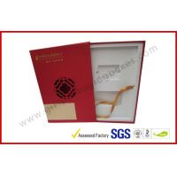 Quality Square Business Gift Packaging Boxes Drawer Style with EVA Foam Packing wholesale