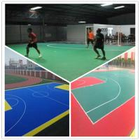 Quality 3W Indoor Futsal  Plastic PVC Interlocking flooring wholesale