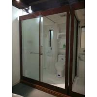Quality Matt Chrome Complete Shower Enclosures 120 X 150 X 210cm Complete Shower Cabins wholesale