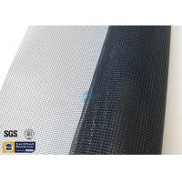 Quality 260℃ PTFE Coated Fiberglass Fabric 4*4MM 580GSM Black Conveyor Belt Dryer wholesale