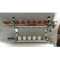 Quality 6 loop radiant Floor Heating Manifold for Floor Heating Systems & Parts wholesale